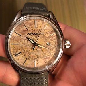 Other - Aragon Leopard Stone Watch
